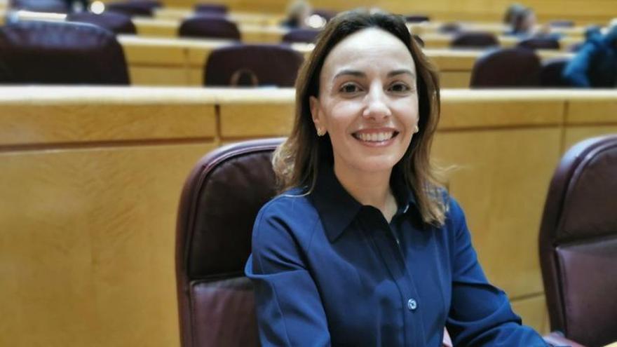 Olivia Delgado, senadora de Tenerife por el PSOE