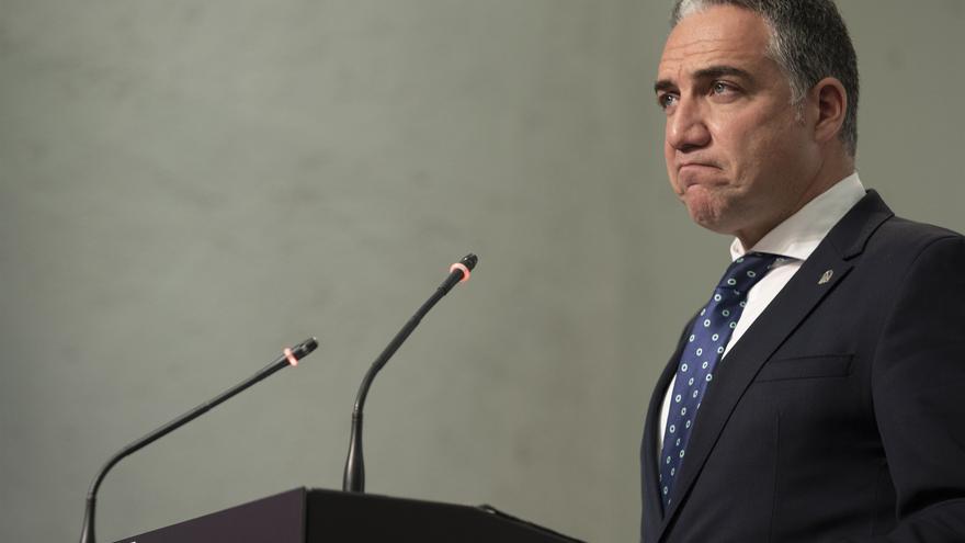 El consejero de Presidencia, Administración Pública e Interior y portavoz del gobierno andaluz, Elías Bendodo