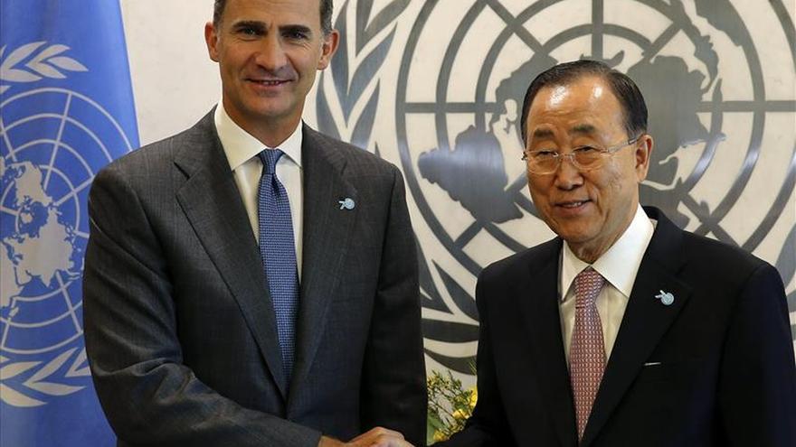 """Felipe VI pide ante la ONU eliminar los """"excesos"""" del modelo de crecimiento"""