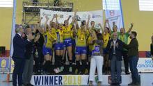 El Rocasa celebra su triunfo en la Challenge Cup