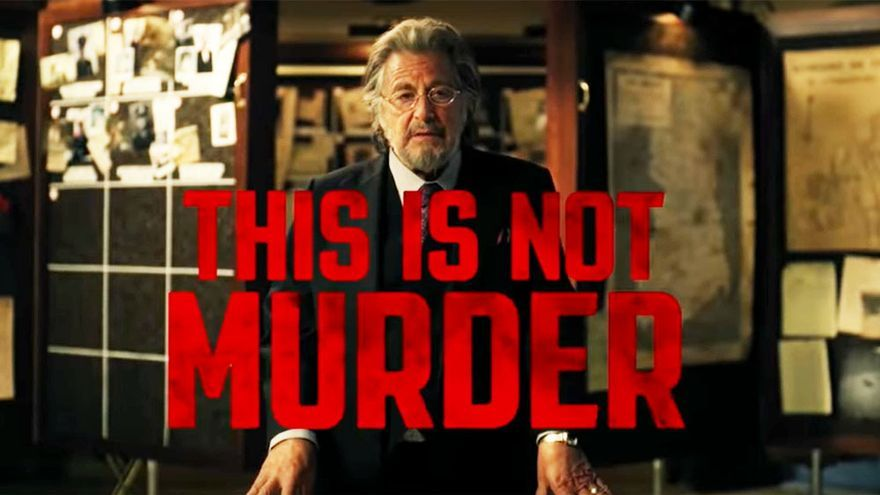 """""""Esto no es un asesinato"""": Al Pacino sale a la caza en el tráiler de su serie en Amazon"""