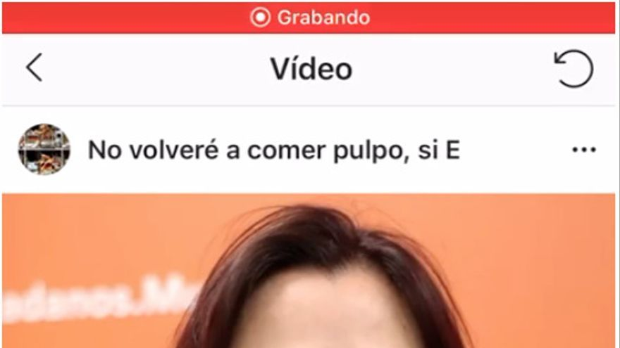 Vídeo en la cuenta de Instragram 'No volveré a comer pulpo si España gana el mundial!'