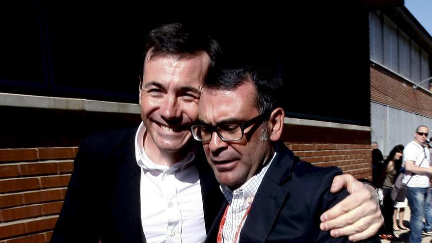 Tomás Gómez junto a José María Fraile en 2011 / EFE