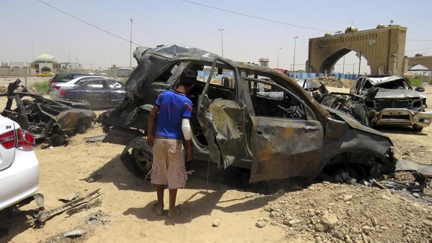 6 Muertos y 30 heridos en un atentado con coche bomba en el centro de Bagdad