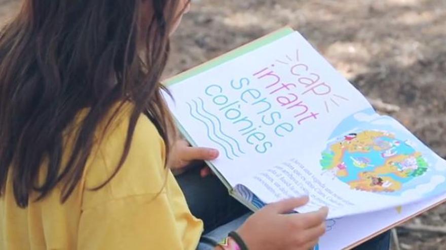 Imagen de la campaña de verano de la Fundació Pere Tarrés.