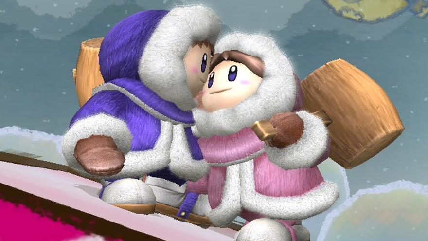 Super Smash Bros gemelos Ice Climbers