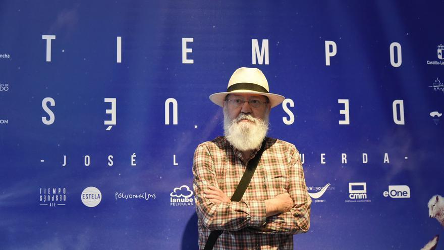 José Luis Cuerda en la presentación del rodaje de 'Tiempo después'