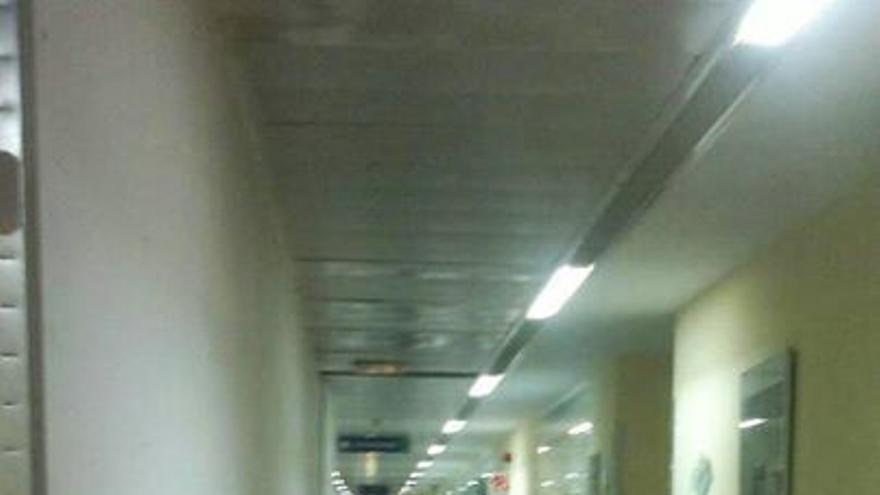 Colapso hospital de Toledo, 15/8/14 / Foto: AnaPrieto   Facebook