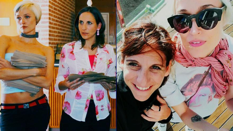 Reunión de 'Aquí no hay quien viva' con Malena Alterio y Laura Pamplona