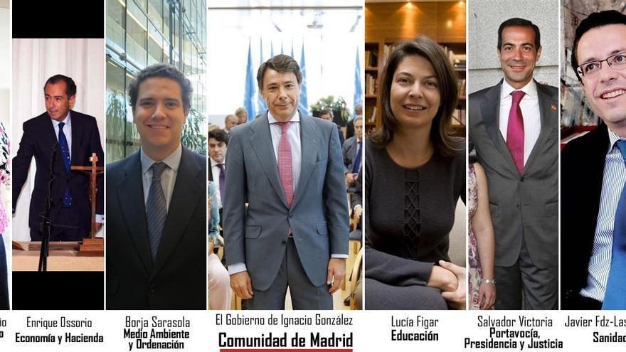 Ignacio González da entrada a Sarasola, Ossorio y Fermosel en el Gobierno, eleva a Victoria y mantiene 8 carteras