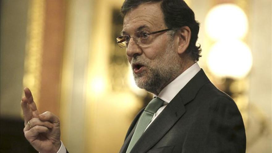Rajoy destaca que, a pesar de buenos datos económicos, se tardará en crecer
