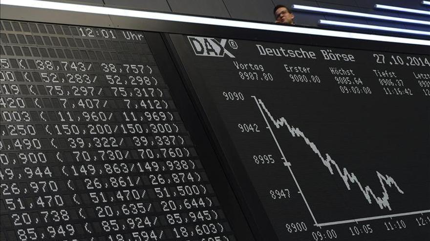 La Bolsa de Fráncfort baja un 0,23 por ciento en la apertura