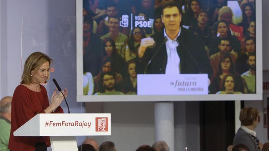 """Chacón erige el empleo estable como prioridad frente a un PP """"indecente"""""""