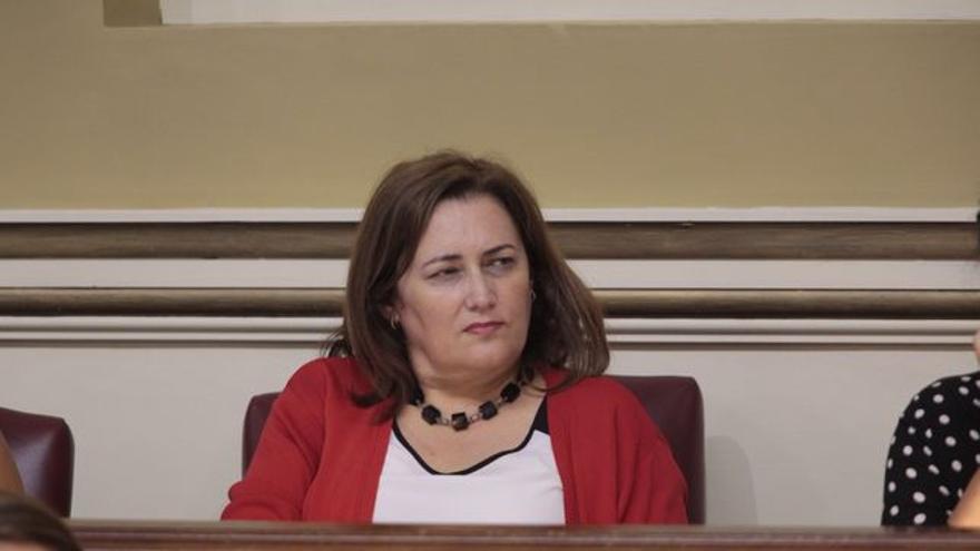 Guadalupe González Taño, también diputada de CC por La Palma