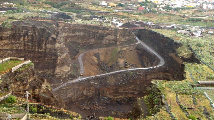 Areneras en el Valle de Güímar