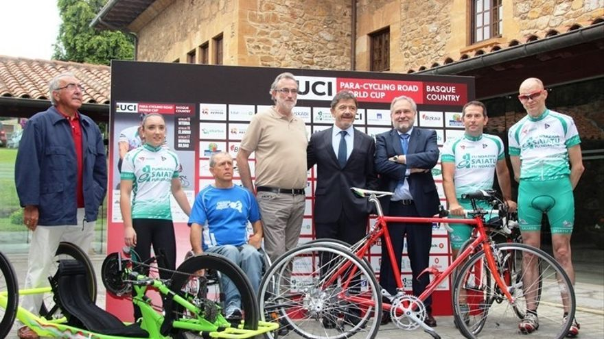 Un total de 311 deportistas de 35 países participarán en la Paracycling World Cup Basque Country