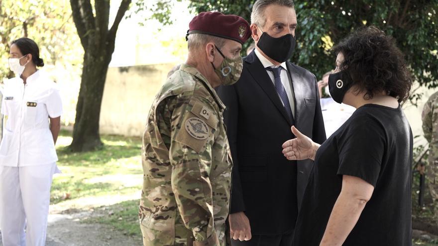"""El ministro de Defensa Agustín Rossi aseguró que las Fuerzas Armadas no hacen """"tareas de seguridad interior, no lo permite la ley"""""""