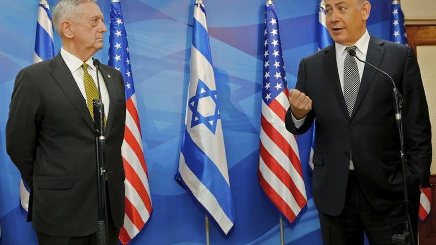 """Netanyahu alaba el """"cambio de dirección"""" de la política estadounidense"""