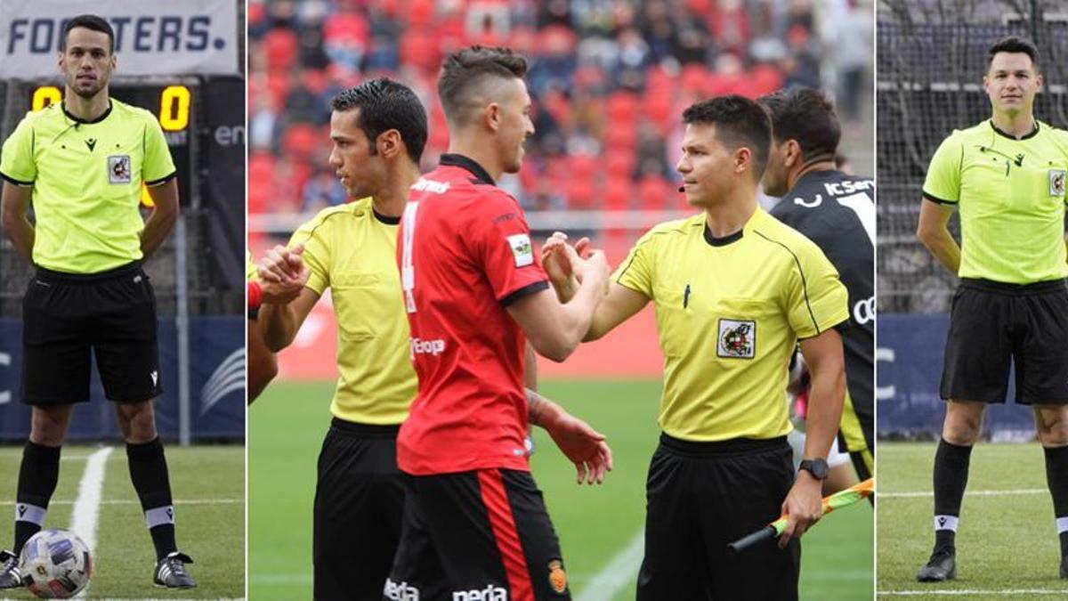 Raúl Martín y Christian Valverde, nuevos árbitros de Segunda A