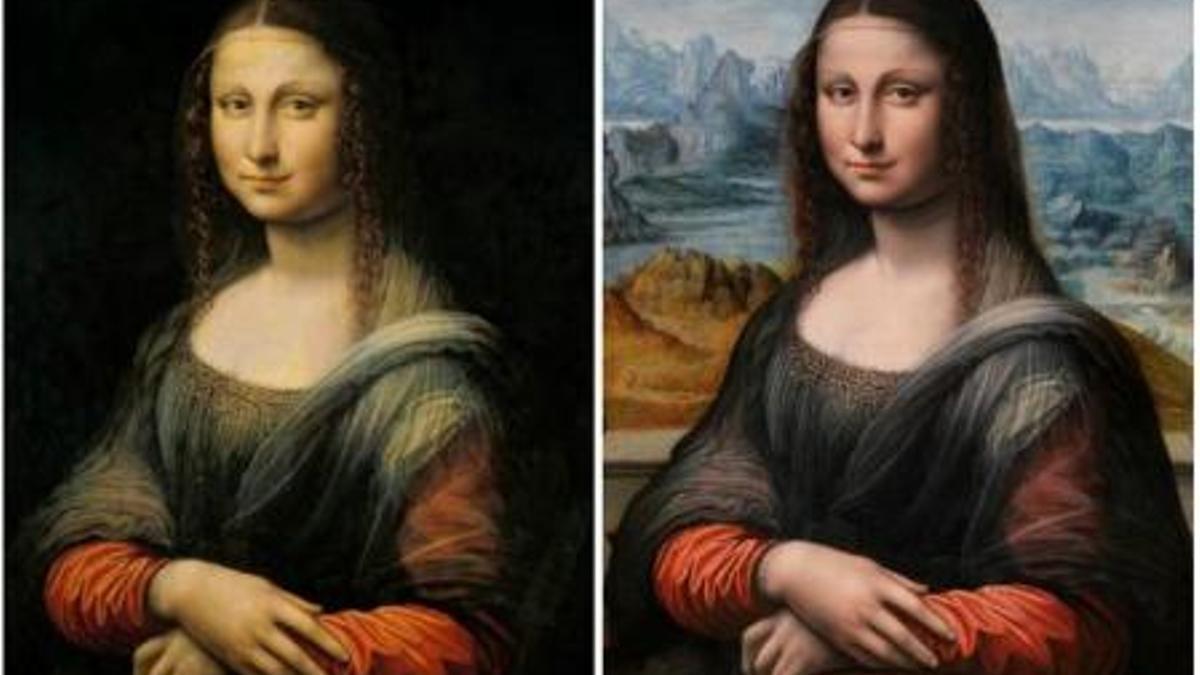 Restauración de 'La Gioconda' del taller de Leonardo, en el Museo del Prado