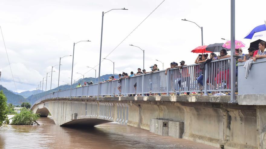 Honduras declara alertas amarilla y verde por las intensas lluvias