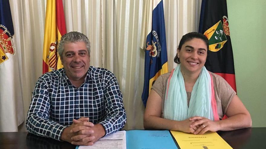 Luis Román Rodríguez y Nieves  María Rodríguez.