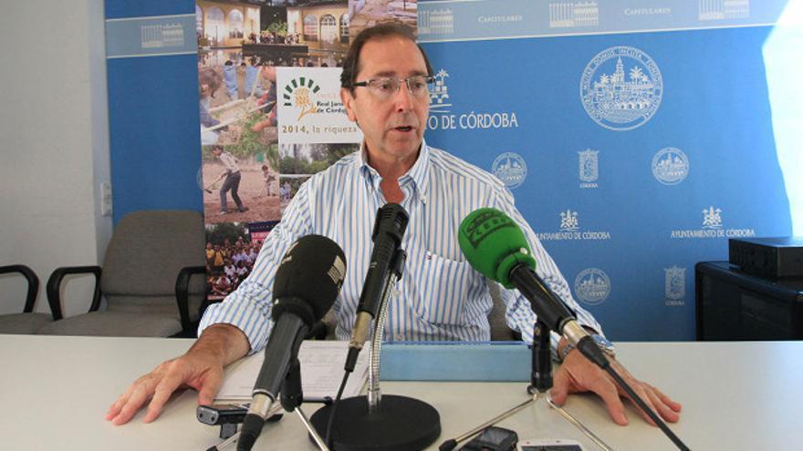 Rafael Jaén, ayer en el Ayuntamiento | RAFAEL MELLADO