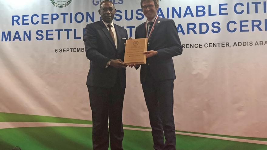Vitoria obtiene el premio 'Global Green City Award'