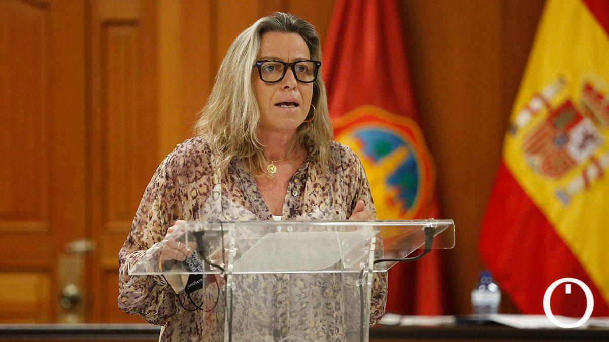 Isabel Albás, delegada de Participación Ciudadana del Ayuntamiento.