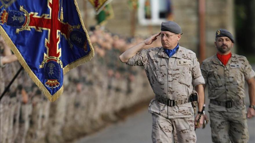 Pontevedra despide al contingente destinado en Afganistán