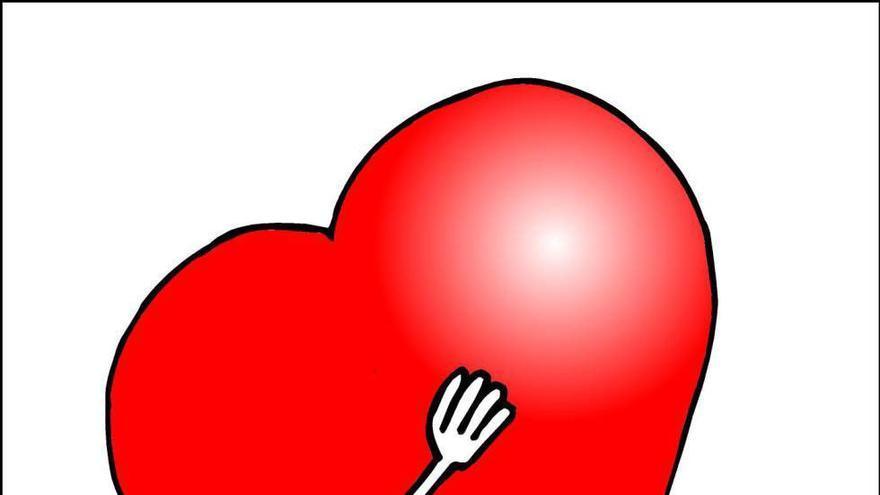 Forges y un enorme corazón