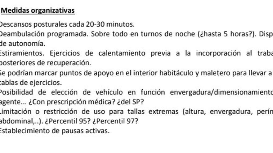 Informe sobre los Seat León de la Ertzaintza