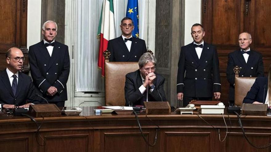 El Gobierno de Gentiloni afronta su investidura en la Cámara de diputados