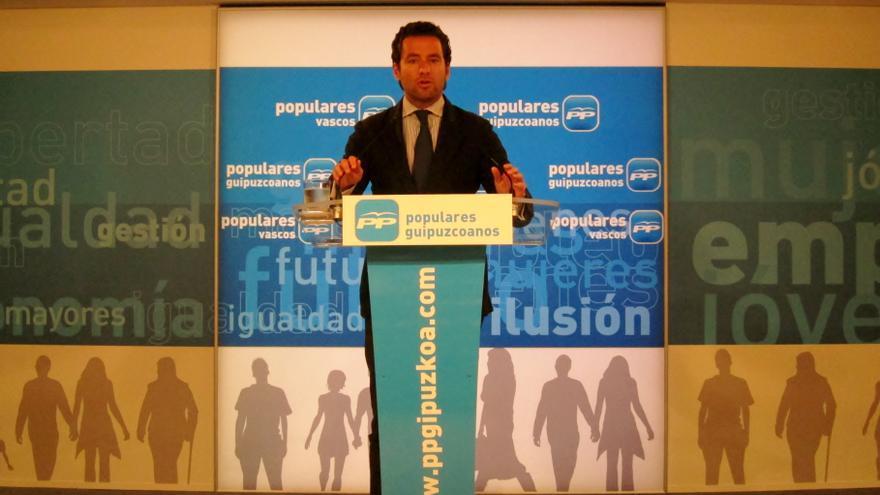 PP reclama el apoyo de todos los partidos políticos en la condena al ataque de su sede en San Sebastián