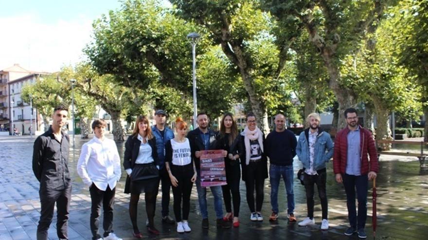 Un total de 31 grupos de música participan del 20 al 22 de octubre en el festival #MEKFEST de Irun (Gipuzkoa)