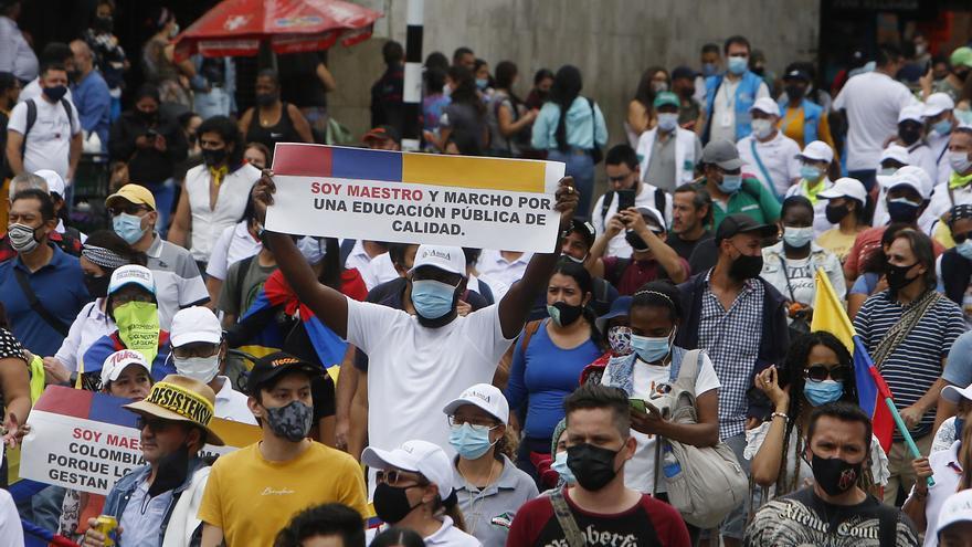 Fiscalía colombiana eleva a 29 número de muertos en protestas, tras 4 meses