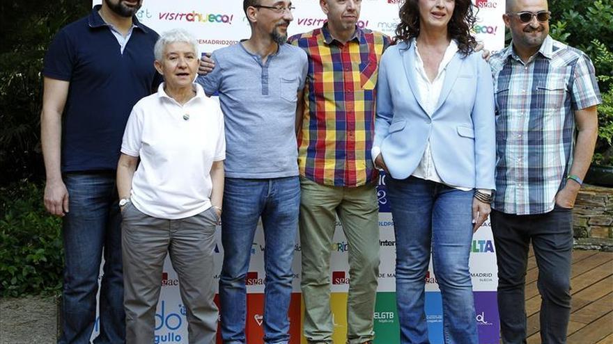 """La bandera arcoíris """"se izará"""" en el Ayuntamiento de Madrid en el Orgullo 2015"""