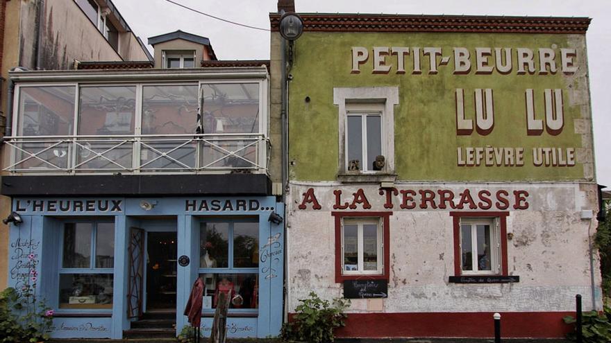Pintorescas fachadas en Trentemoult.