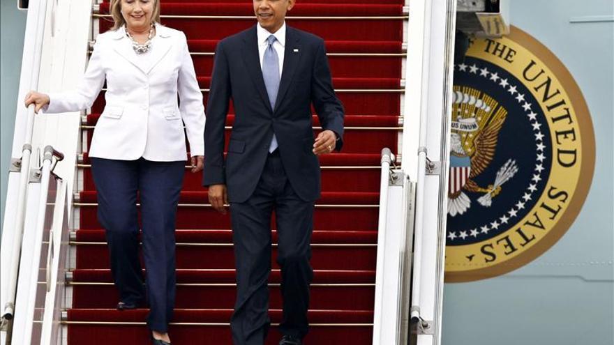 Obama afirma que va a echar de menos a Hillary Clinton