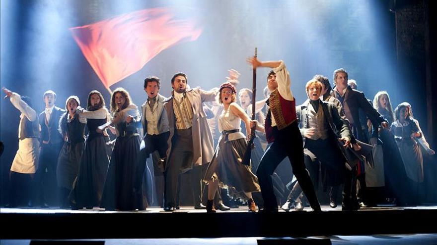 """""""Los Miserables"""" conquista y llena en Santander en la noche de estreno"""
