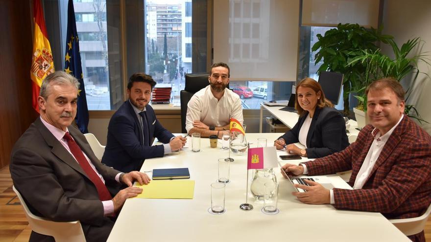 Reunión el Ministerio de Economía y Empresa