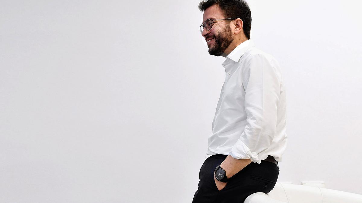 Pere Aragonès se ha convertido en el presidente de la Generalitat más joven de la democracia.