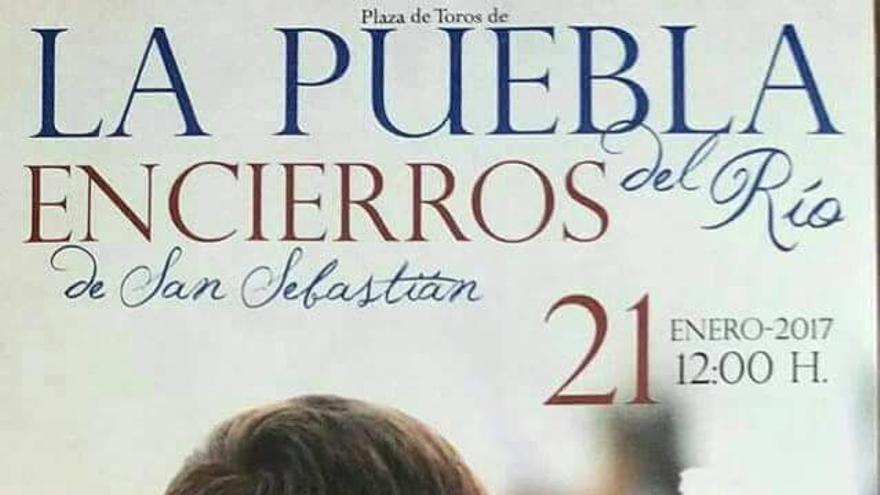 Cartel de La Puebla del Río.