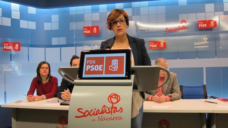 """María Chivite (PSN) llama a Geroa Bai e I-E a """"dialogar para materializar el cambio en Navarra"""""""