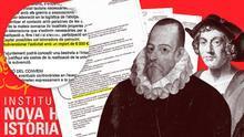 El Institut Nova Història recibe 6.000 euros anuales de Montblanc para difundir sus tesis pseudohistóricas
