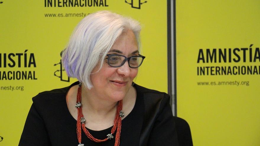 Idil Eser, directora de Amnistía Internacional en Turquía, en su visita a Madrid.