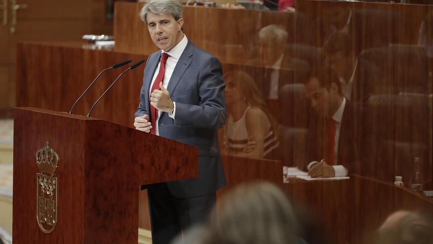 El presidente del Gobierno de la Comunidad de Madrid, Ángel Garrido, en el Debate del Estado de la Región de 2018. / Comunidad de Madrid