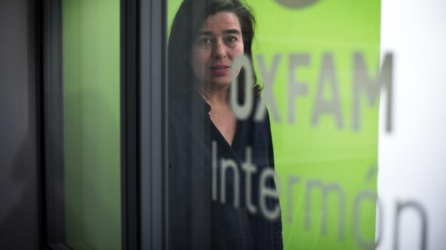 Pilar Orenes, directora de Personas y Organización de Oxfam. FOTO: FERNANDO SÁNCHEZ