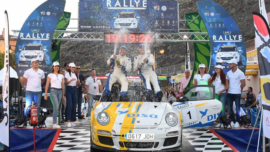 Imagen de archivo de la celebración en meta.