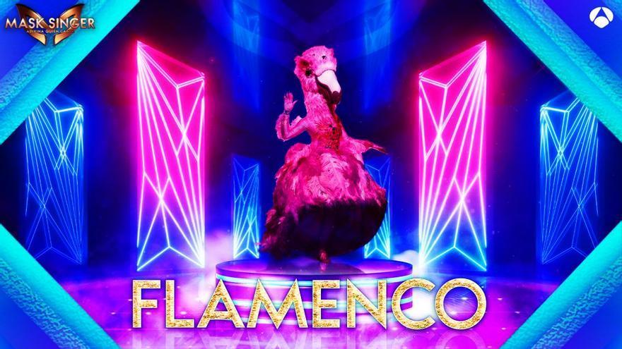 Flamenco, nueva máscara de 'Mask Singer'